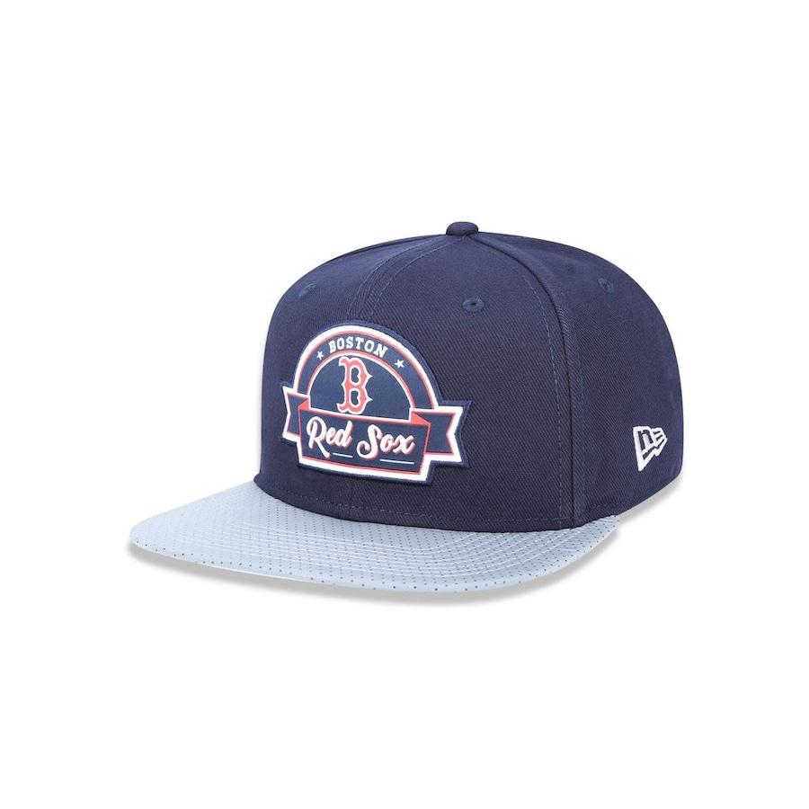 Boné Aba Reta New Era 950 Original Fit Boston Red Sox MLB - 41021 - Snapback  - Adulto db71e83ca5e