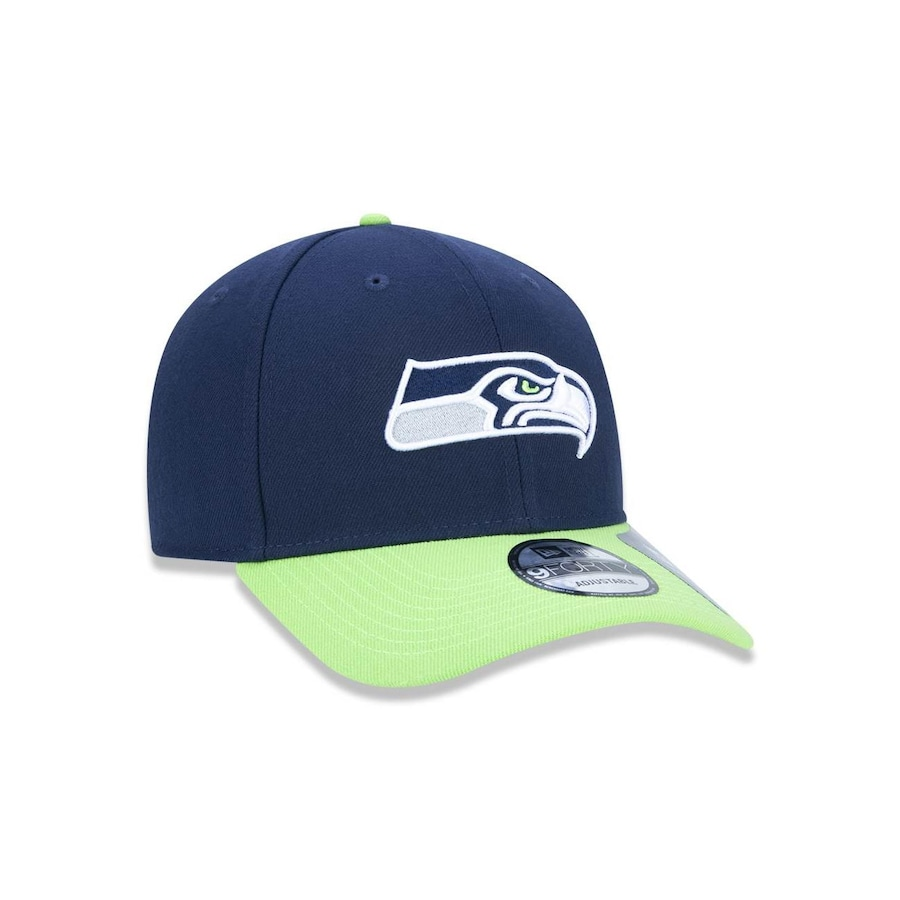 Boné Aba Curva New Era 940 Seattle Seahawks NFL - 34645 - Snapback - Adulto 526da38fdc1