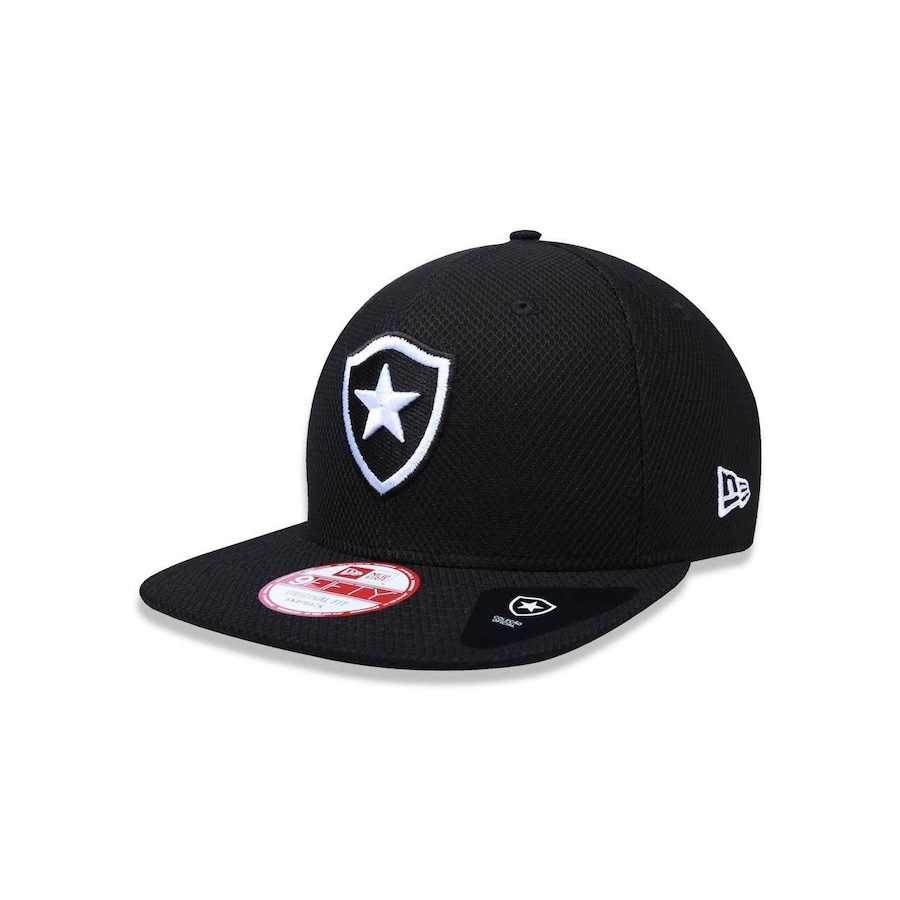Boné Aba Reta New Era Original Fit Botafogo - 34459 - Snapback - Adulto 30870acc422