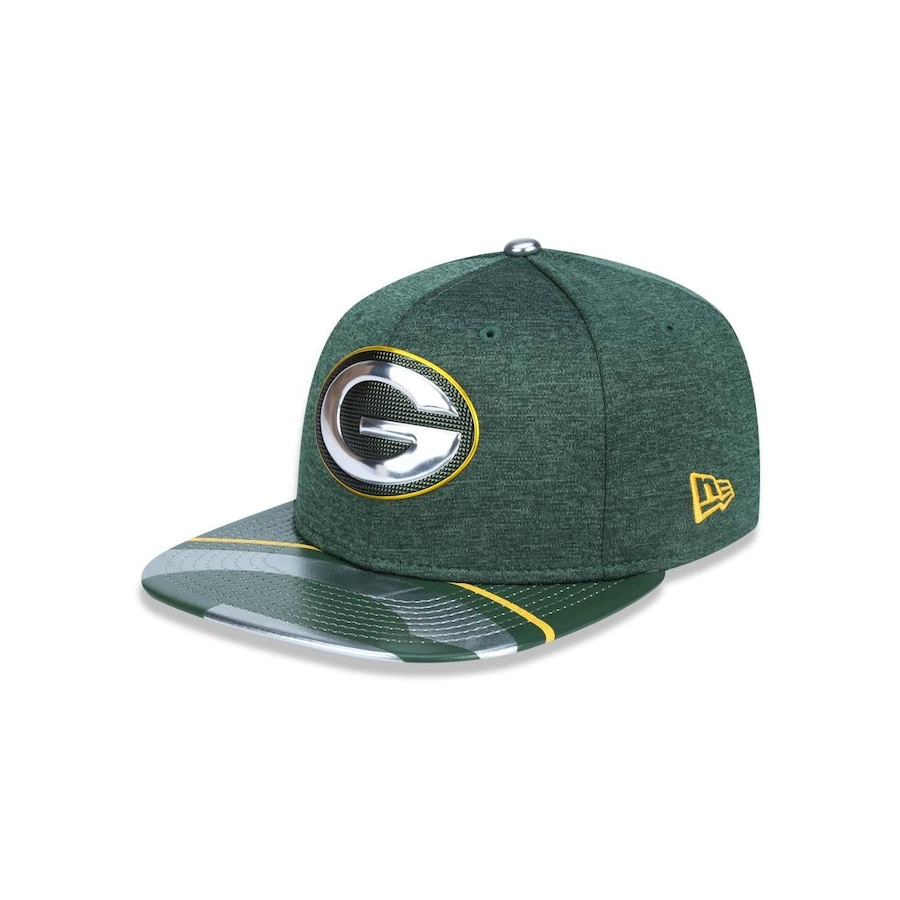 64e8894529735 Boné Aba Reta New Era 950 Original Fit Green Bay Packers - 39791 - Snapback  - Adulto