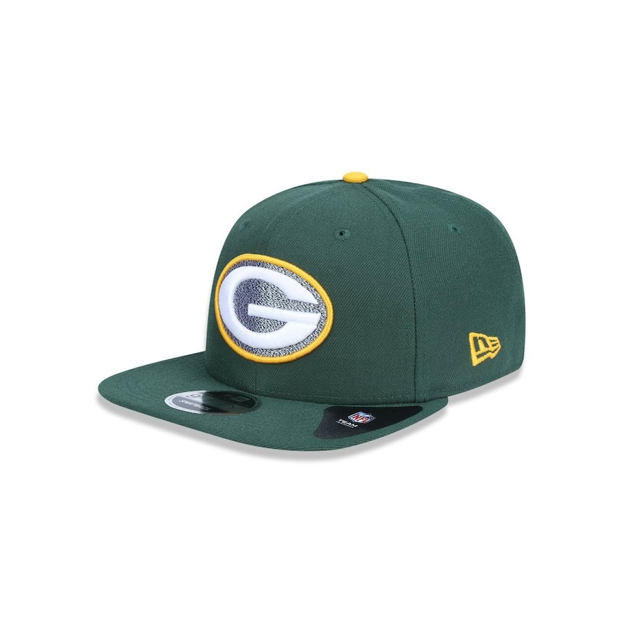 Boné Aba Reta New Era 950 Original Fit Green Bay Packers NFL - 39875 -  Snapback - Adulto 6a4564f8121