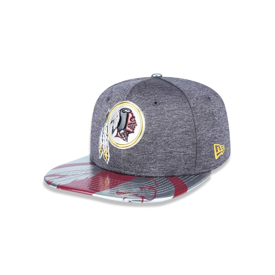 84bc43fc9f Boné Aba Reta New Era 950 Original Fit Washington Redskins NFL - 39829 -  Snapback - Adulto
