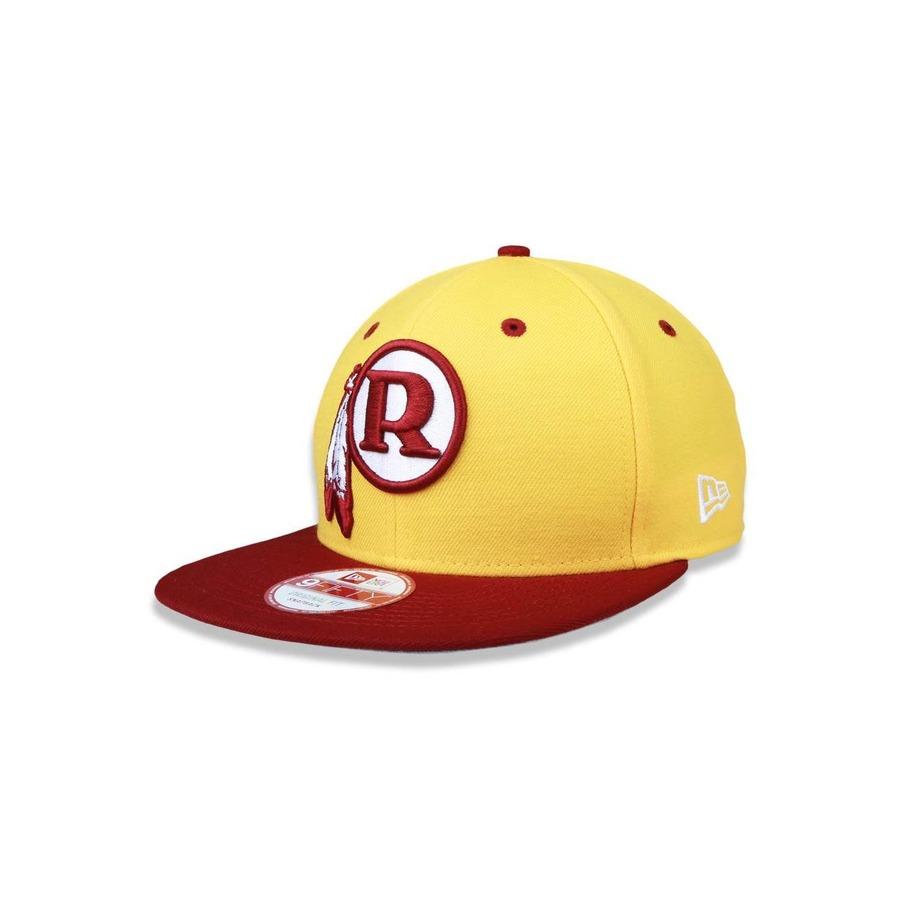 Boné Aba Reta New Era 950 Original Fit Washington Redskins NFL - 31261 -  Snapback - Adulto 094ede1c216c7