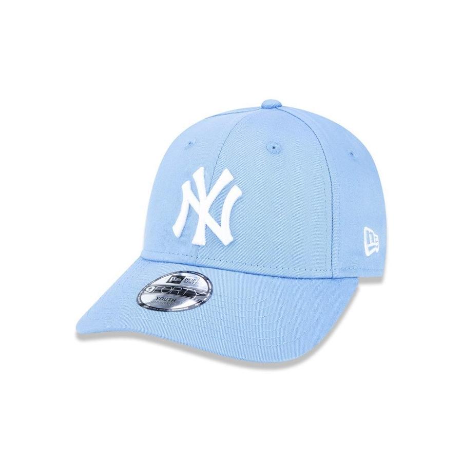 Boné Aba Curva New Era 940 New York Yankees MLB - 45141 - Strapback - Adulto 3aa2449bc59