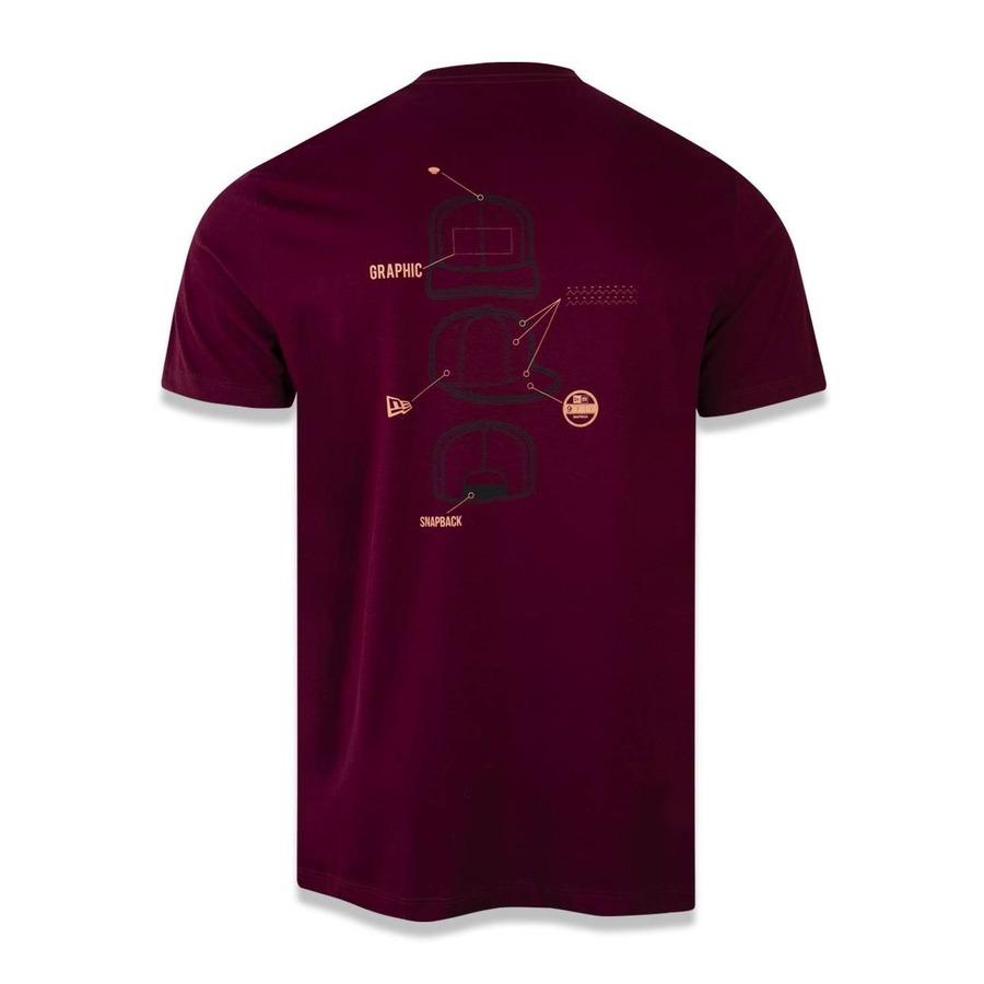 5bcf200692116 Camiseta New Era Branded 43337 - Masculina