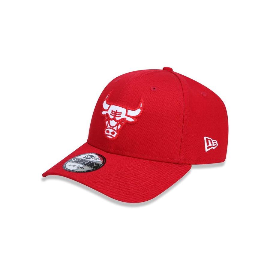 d9eb3e7554ff6 Boné Aba Curva New Era 940 Chicago Bulls NBA - 39008 - Snapback - Adulto