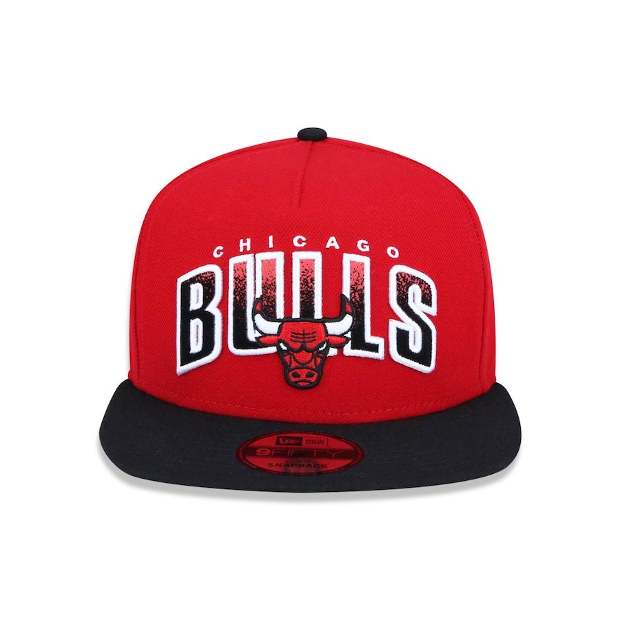 Boné Aba Reta New Era 950 Chicago Bulls NBA A-Frame - 41909 - Snapback -  Adulto d3341b77cbe
