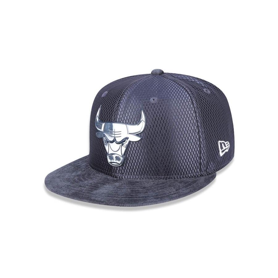 Boné Aba Reta New Era 950 Chicago Bulls NBA - 40939 - Snapback - Adulto 7080359f11c