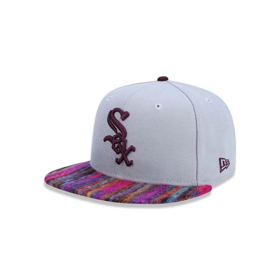 Boné Aba Reta New Era 950 Chicago White Sox MLB - 26929 - Snapback - Adulto d7199ada522