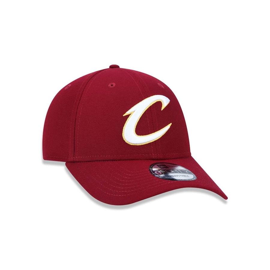 ce12c02c7f452 Boné Aba Curva New Era 940 Cleveland Cavaliers NBA - 40994 - Snapback -  Adulto