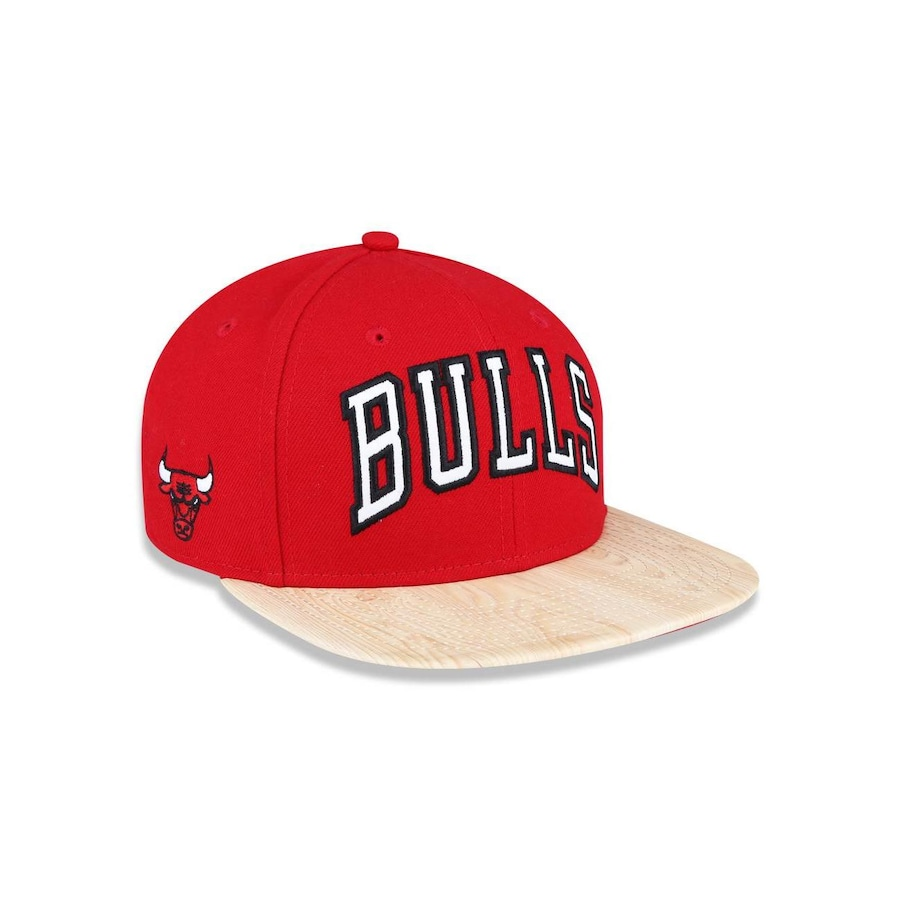 Boné Aba Reta New Era 950 Original Fit Chicago Bulls NBA - 39084 - Snapback  - Adulto 2296e463ecd