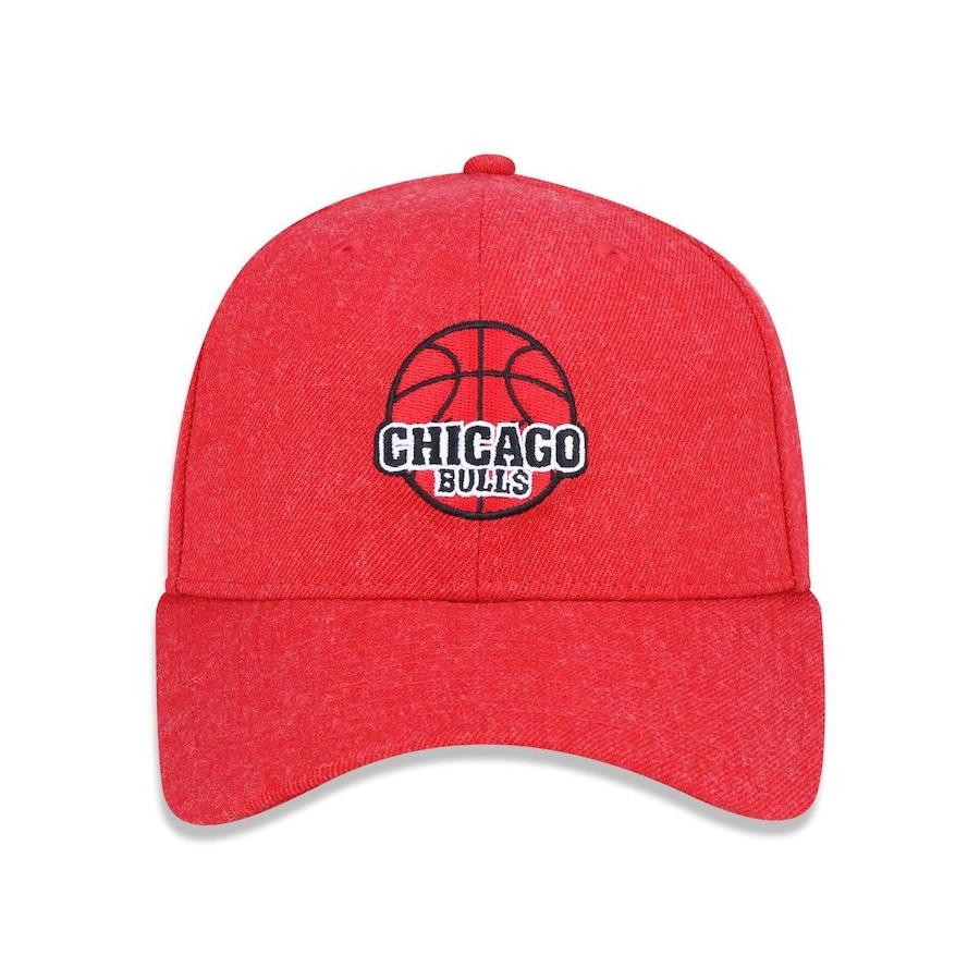 61de7a7aacf87 Boné Aba Curva New Era 940 Chicago Bulls NBA - 41924 - Snapback - Adulto