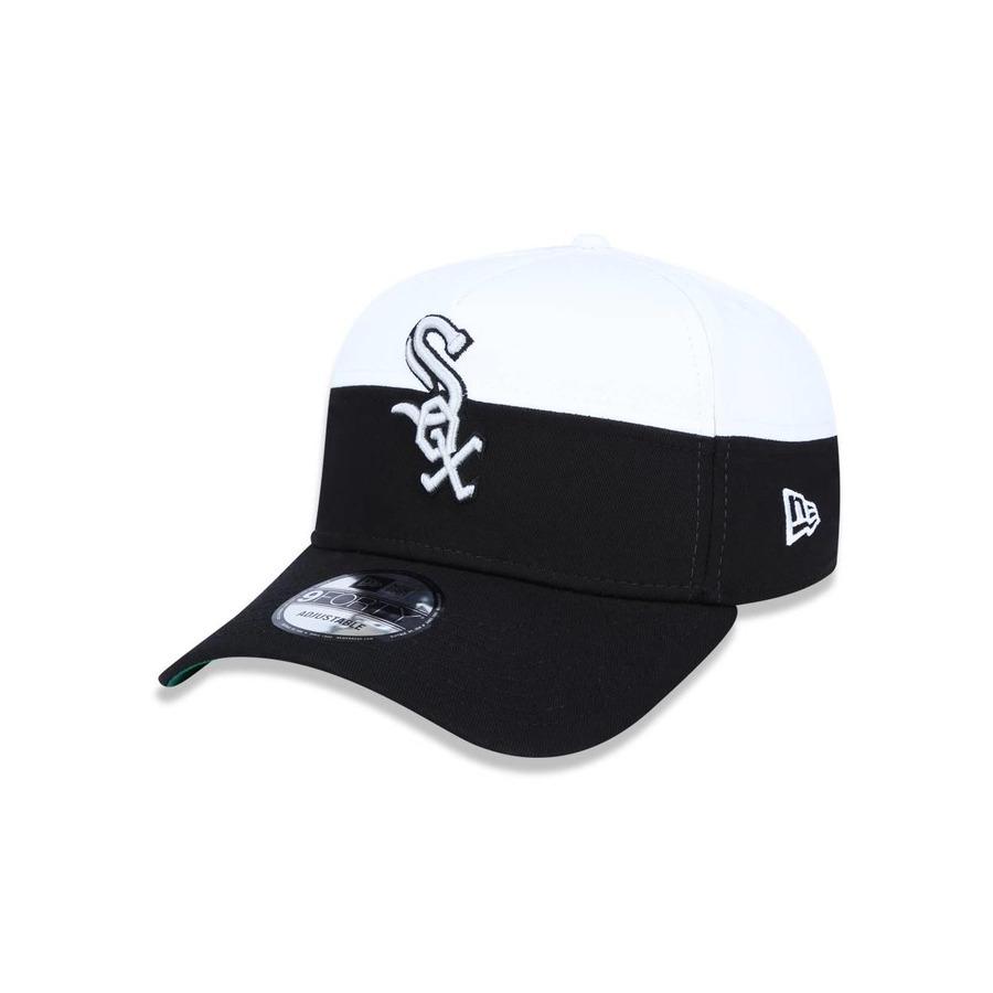 Boné Aba Curva New Era 940 Chicago White Sox MLB - 42185 - Snapback - Adulto 82359603018