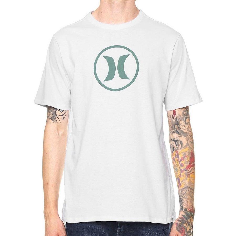 Camiseta Hurley Silk Circle Icon - Masculina 0bbb4c2cd81