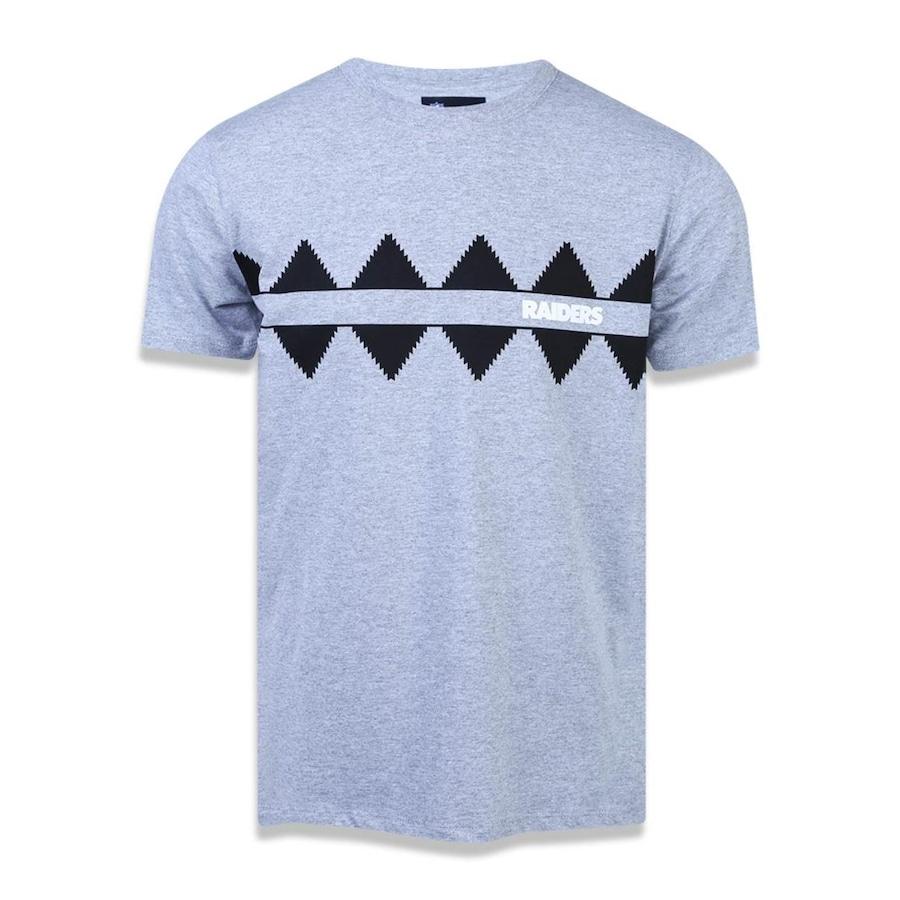 Camiseta New Era NFL Oakland Raiders 43228 - Masculina 629a874f80158