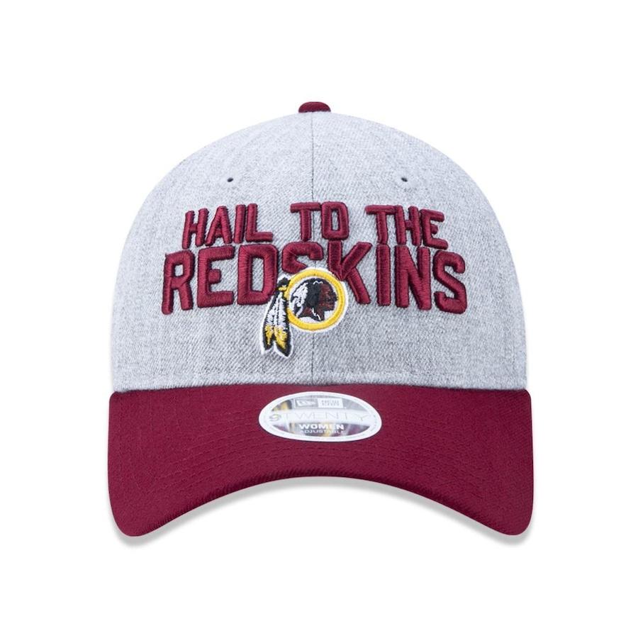 Boné Aba Curva New Era 920 Washington Redskins NFL - 43514 - Strapback -  Adulto 63618d247f8