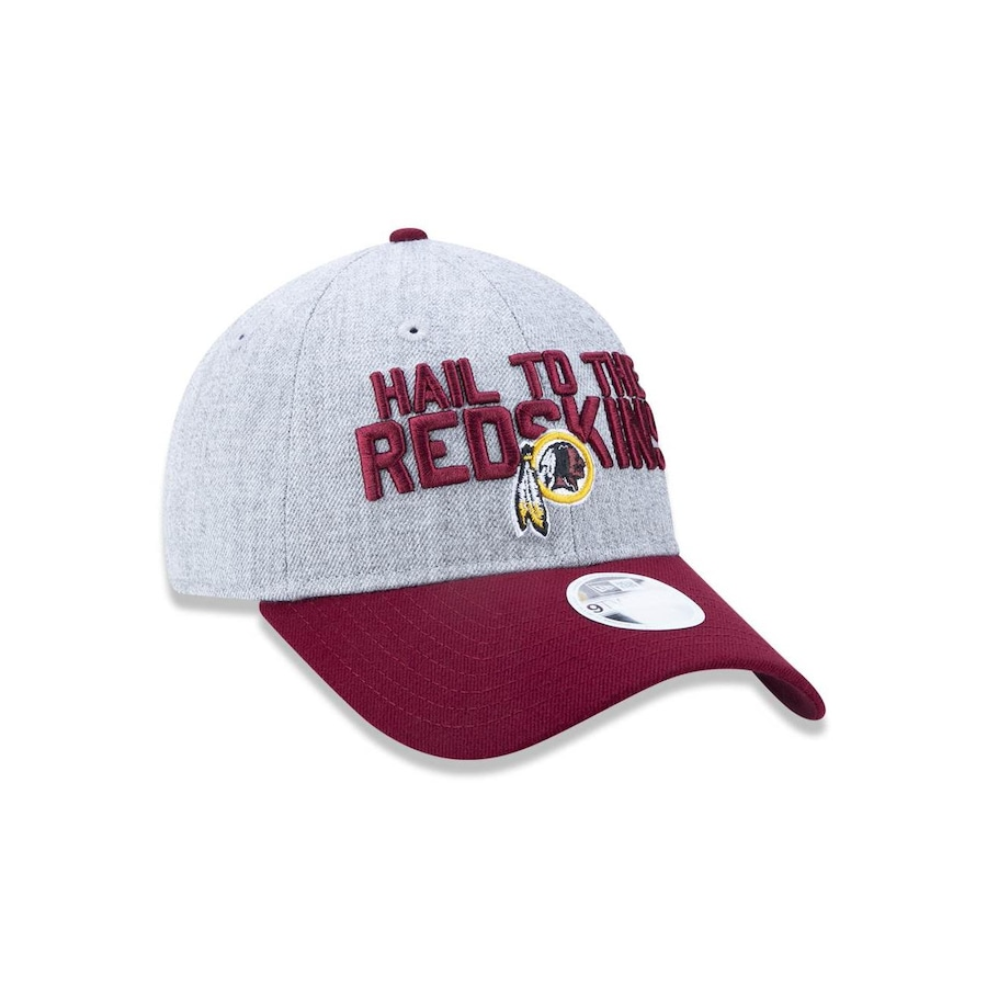 cd55e800603e5 Boné Aba Curva New Era 920 Washington Redskins NFL - 43514 - Strapback -  Adulto
