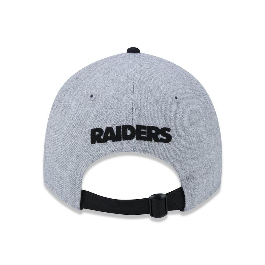 Boné Aba Curva New Era 920 Oakland Raiders NFL - 44550 - Strapback - Adulto ddd5e8fed62