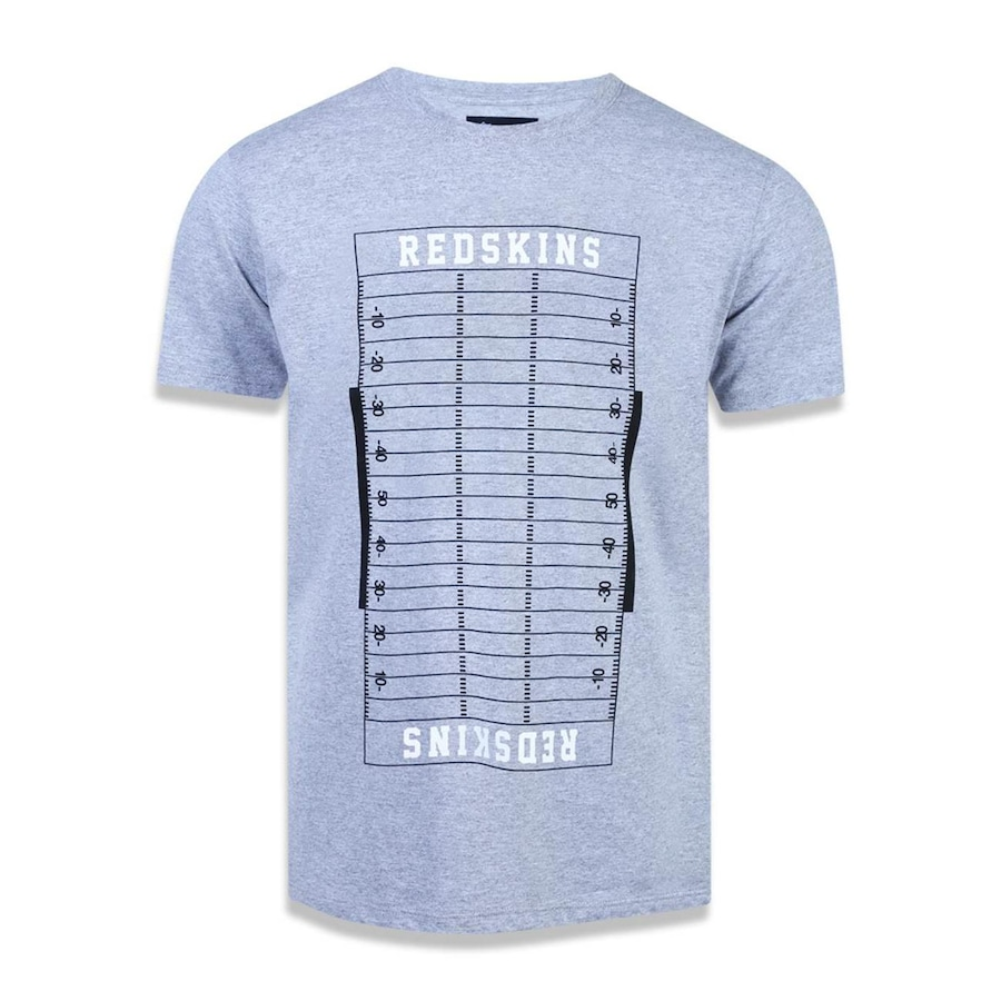 Camiseta New Era NFL Washington Redskins Campo 43274 - Masculina e2bf13f561680