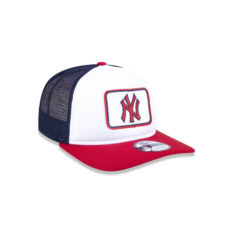 Boné Aba Reta New Era 950 New York Yankees MLB A-Frame - 44423 - Snapback -  Adulto 70d9d7d61c7