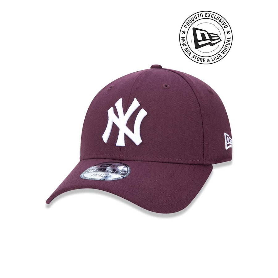Boné Aba Curva New Era 3930 New York Yankees MLB - 44719 - Fechado - Adulto e077b8f136a