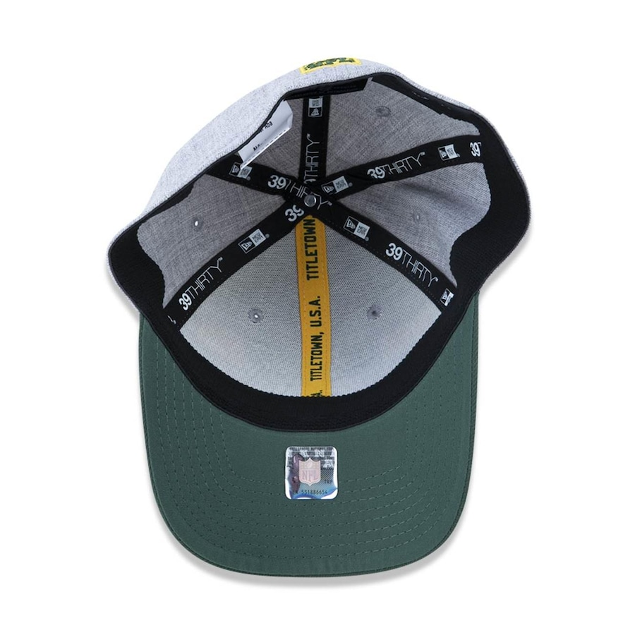 Boné Aba Curva New Era 3930 Green Bay Packers NFL - 43454 - Fechado - Adulto 8c3877238e66a