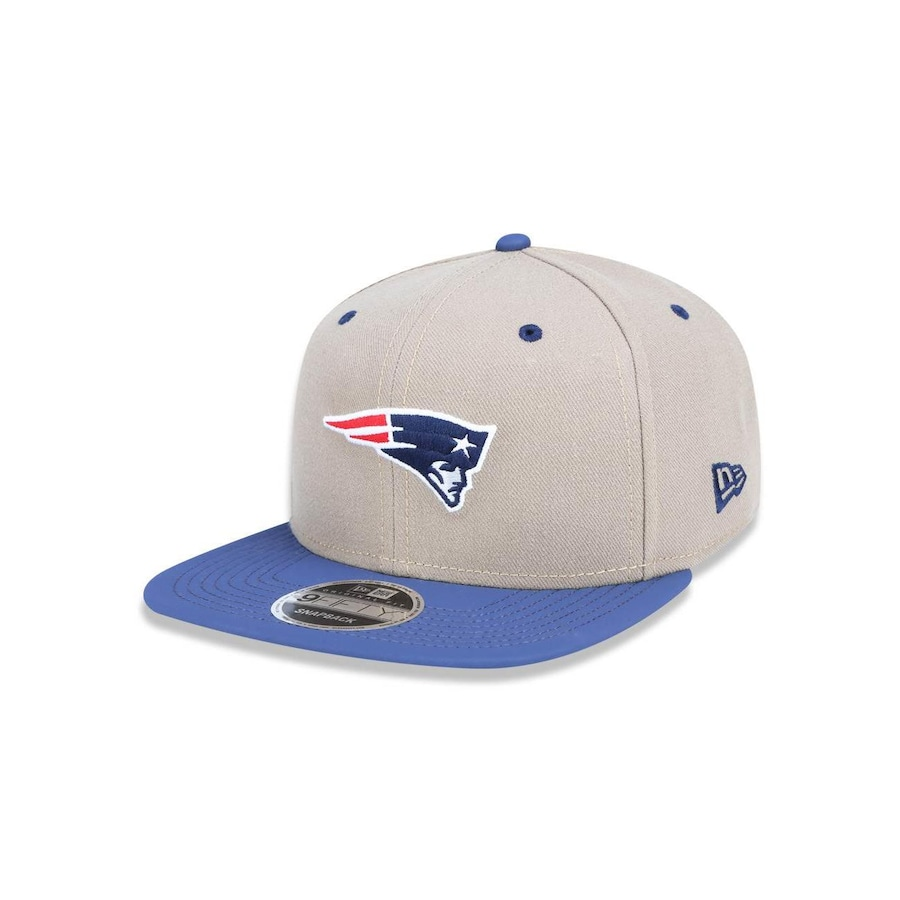 Boné Aba Reta New Era 950 Original Fit New England Patriots - 42096 -  Snapback - Adulto 5481b5e1e9267