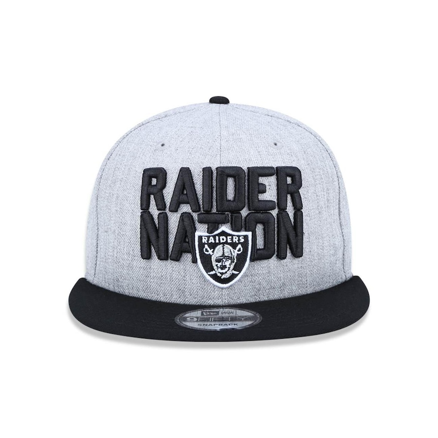 Boné Aba Reta New Era 950 Oakland Raiders NFL - 43517 - Snapback - Adulto dcc980f5d16