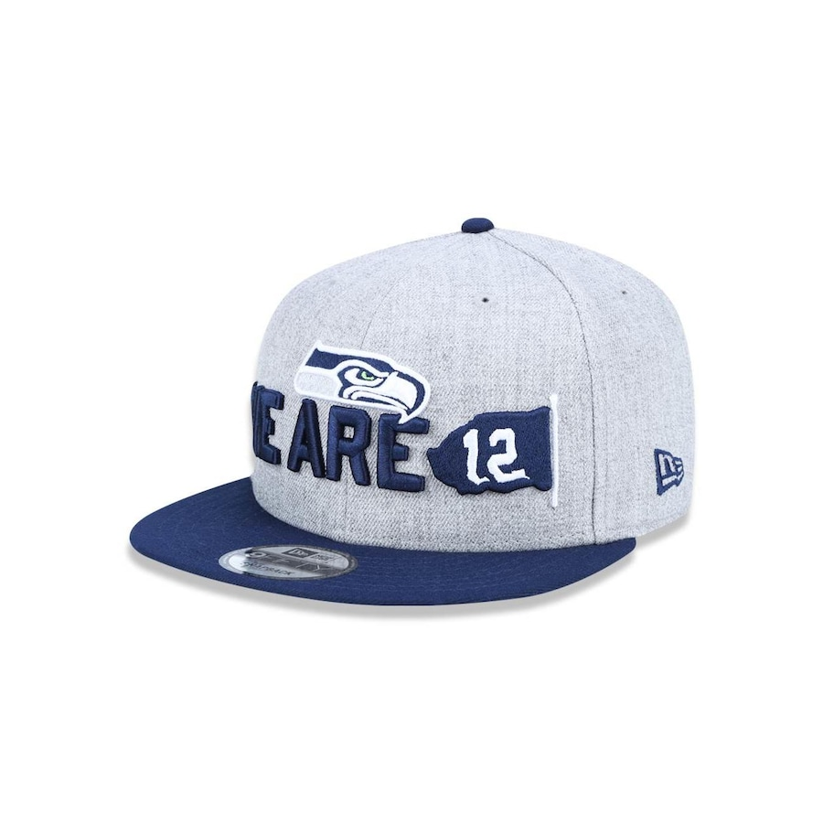 3d5711c018 Boné Aba Reta New Era 950 Seattle Seahawks NFL - 43518 - Snapback - Adulto