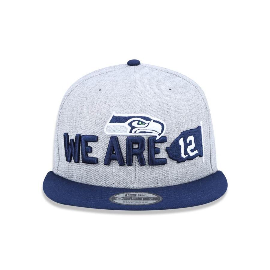 Boné Aba Reta New Era 950 Seattle Seahawks NFL - 43518 - Snapback - Adulto daadba9c415cf
