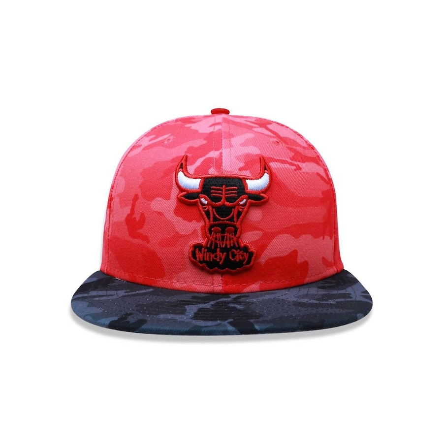 Boné Aba Reta New Era 5950 NBA Chicago Bulls 26676 - Fechado - Adulto d271b04db2b