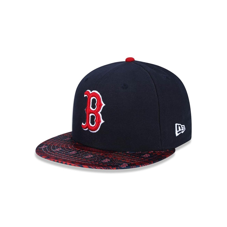 Boné Aba Reta New Era 5950 MLB Boston Red Sox 26474 - Fechado - Adulto edfcf712e47