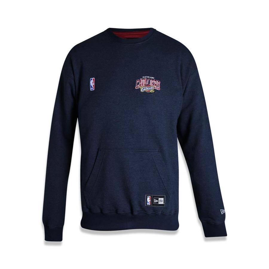 5427d27824392 Blusão de Moletom New Era NBA Cleveland Cavaliers 42027 - Masculino