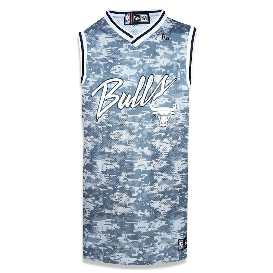 Camiseta Regata New Era NBA Chicago Bulls Camuflada 39359 - Masculina 4c22c04b21719