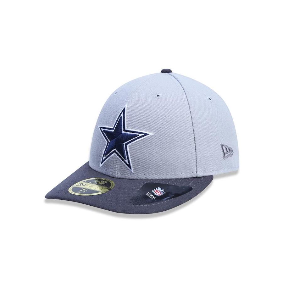 Boné Aba Reta New Era 5950 Dallas Cowboys NFL 38743 - Fechado - Adulto 9682ab0b625