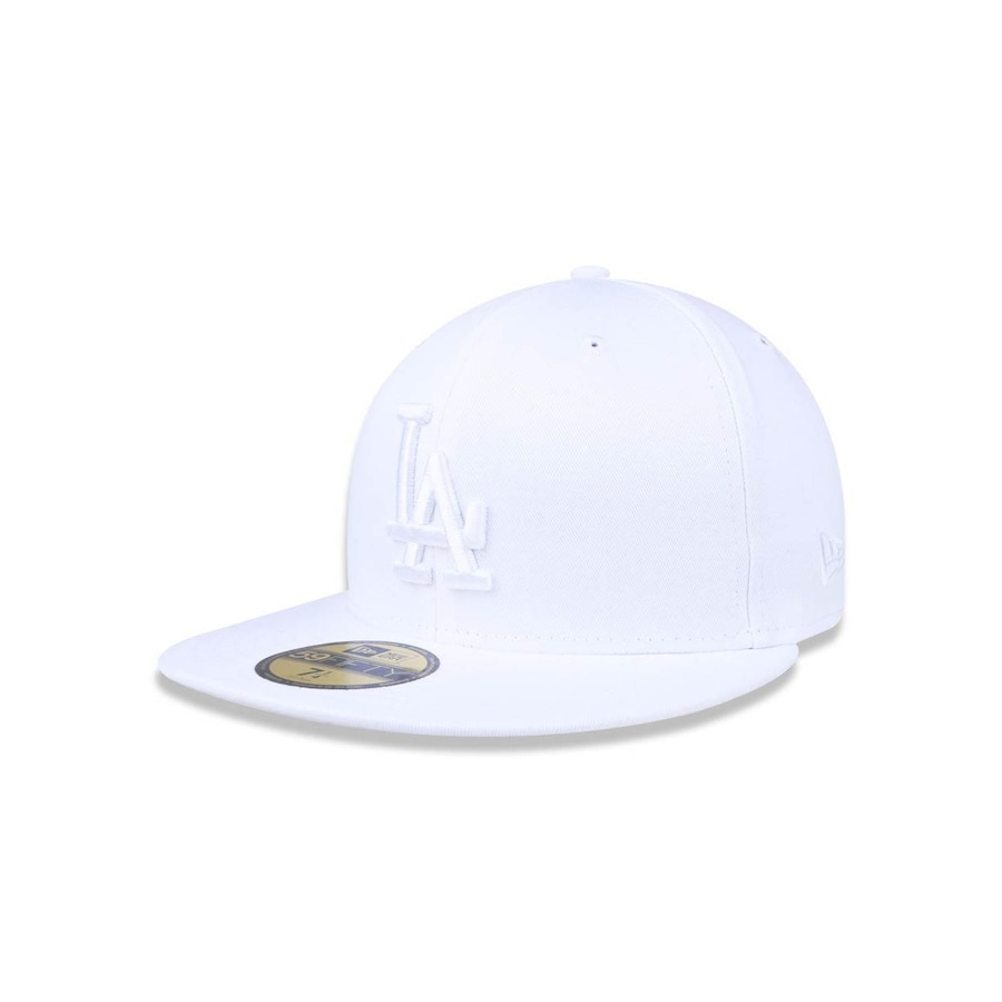Boné Aba Reta New Era 5950 MLB Los Angeles Dodgers 17471 - Fechado - Adulto 5c48202401f