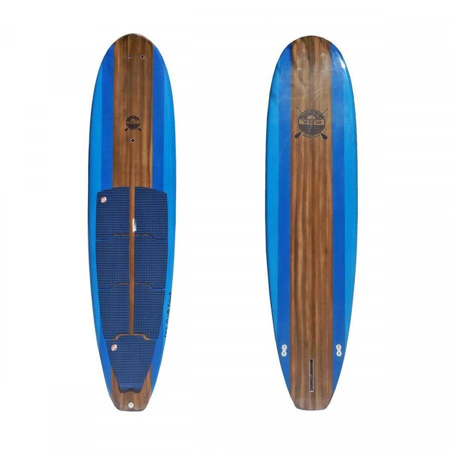 0c11de354 Prancha Stand Up Paddle Sea Club Blue Wood - 11