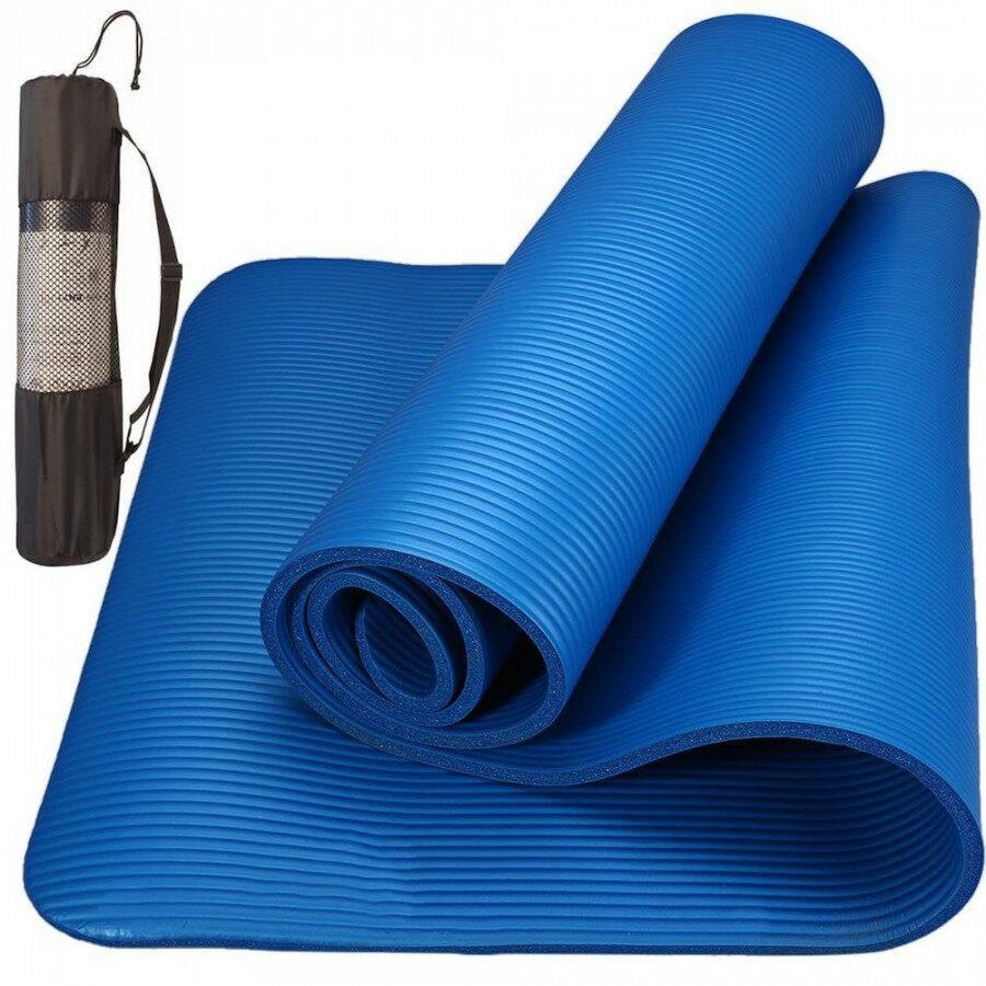 a763c60671 Tapete de Yoga Yang Fit Yoga Mat Pilates Ginástica com Fita - 10mm