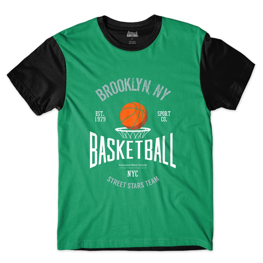 Camiseta Attack Life Brooklyn - Masculina c0c6264c56121