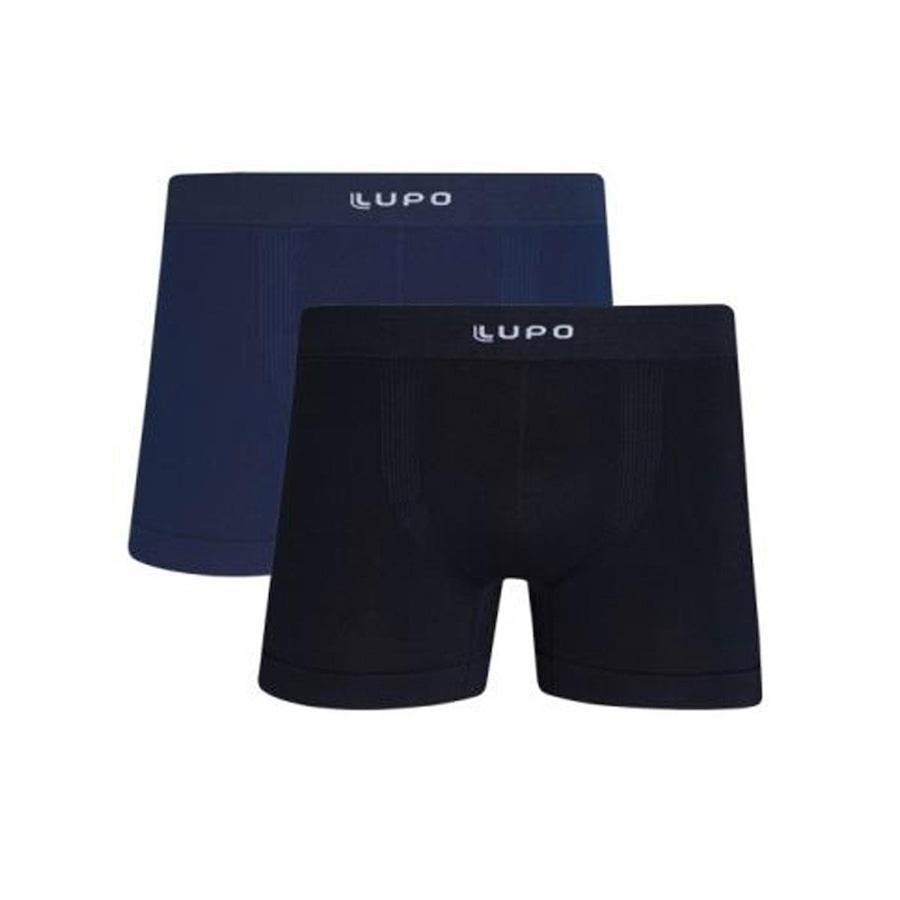 02e9352ea0f918 Kit com 2 Cuecas Lupo Boxer - Masculino - Adulto