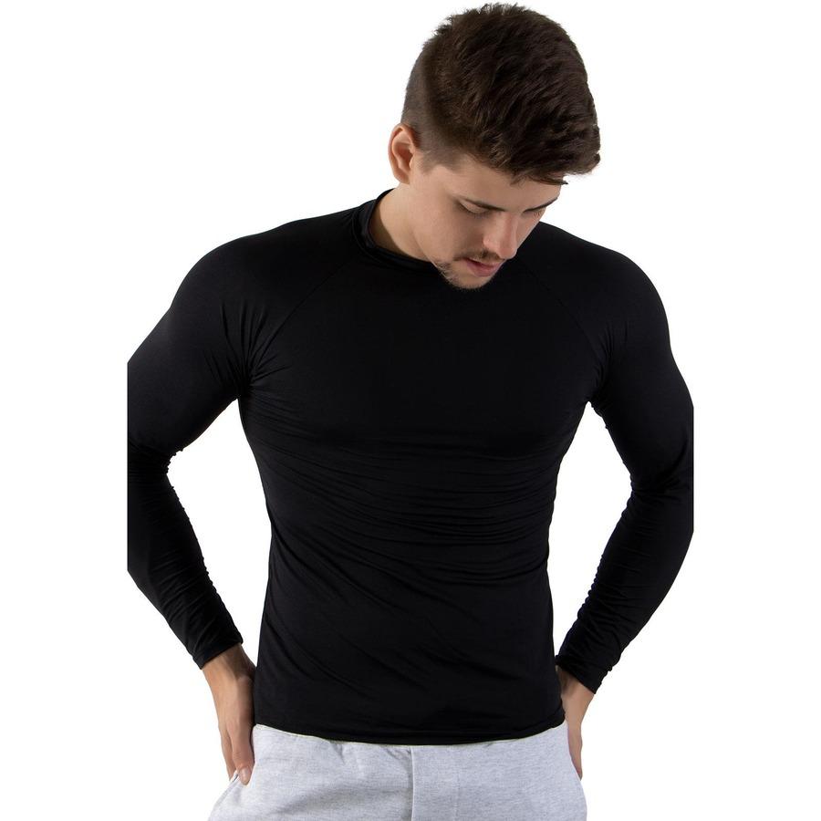 38326c419899a Camiseta Segunda Pele Manga Longa Calif Térmica com Proteção UV 50+ -  Masculina