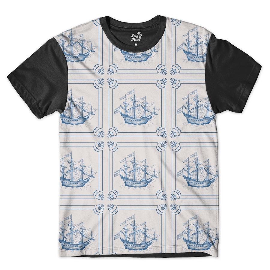 Camiseta Long Beach Náutica Retrô - Masculina 9842938521