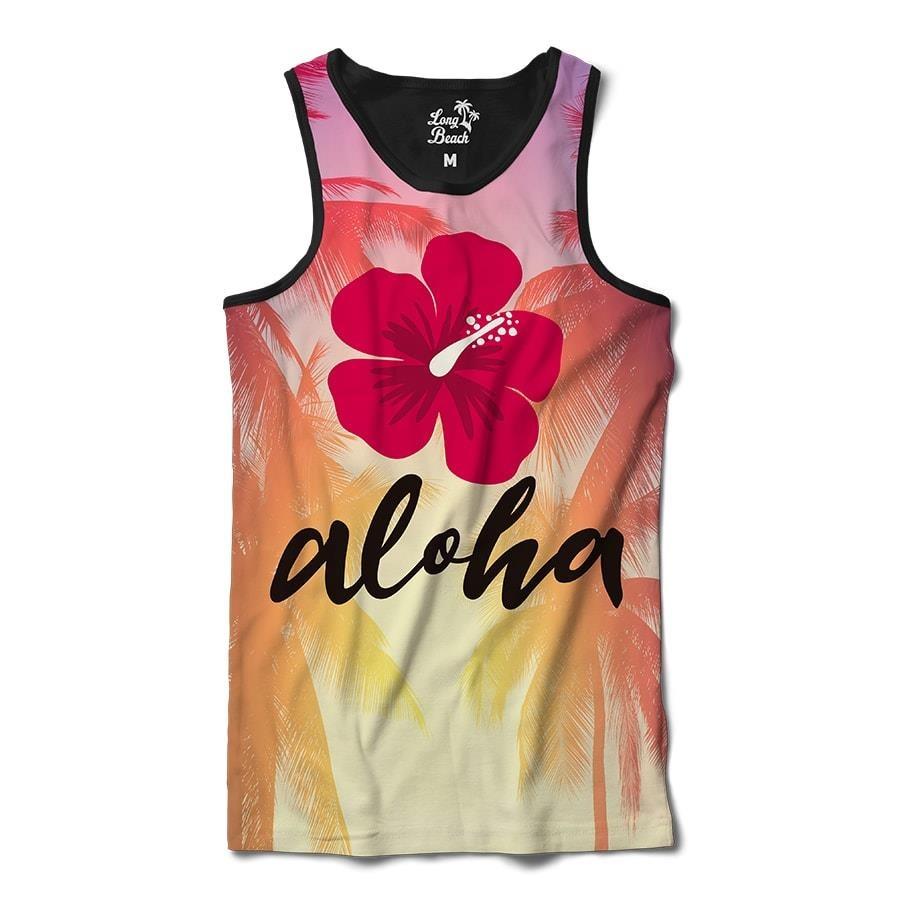 Camiseta Regata Long Beach Aloha - Masculina 5f419b3f24e