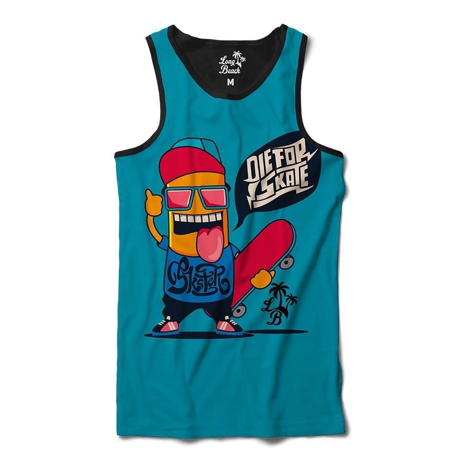 Camiseta Regata Long Beach Die for Skate - Masculina 3f7357d436c