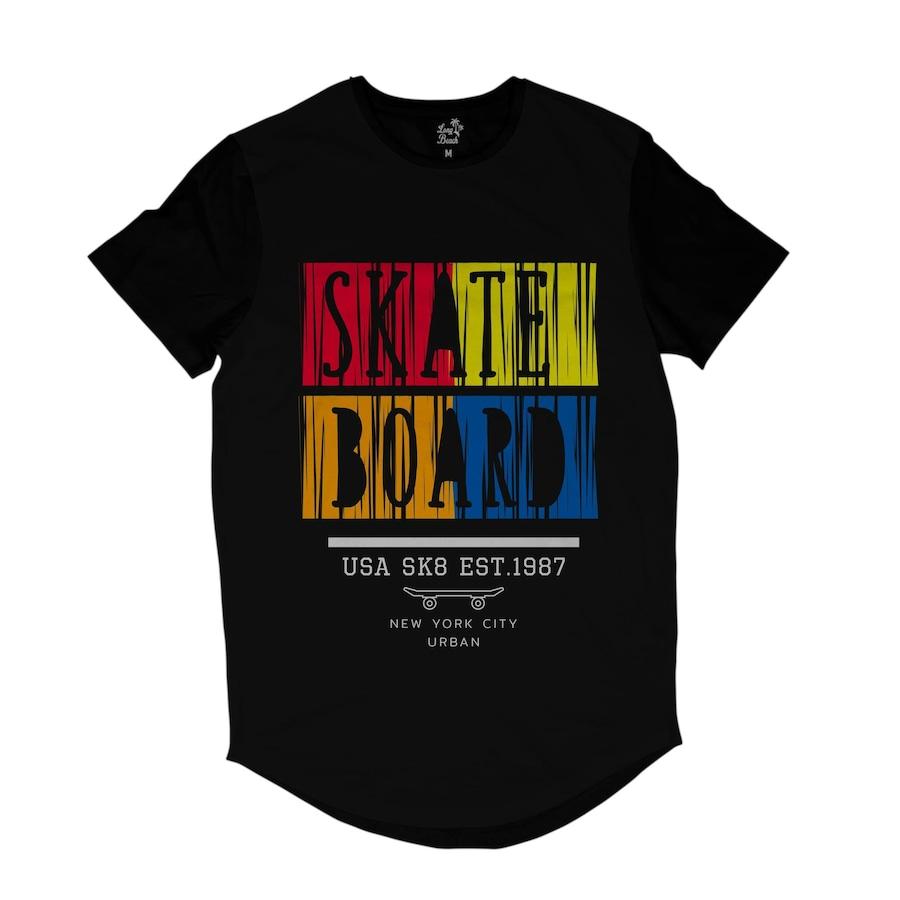 Camiseta Longline Long Beach New York Skate - Masculina d0e0d421d7d