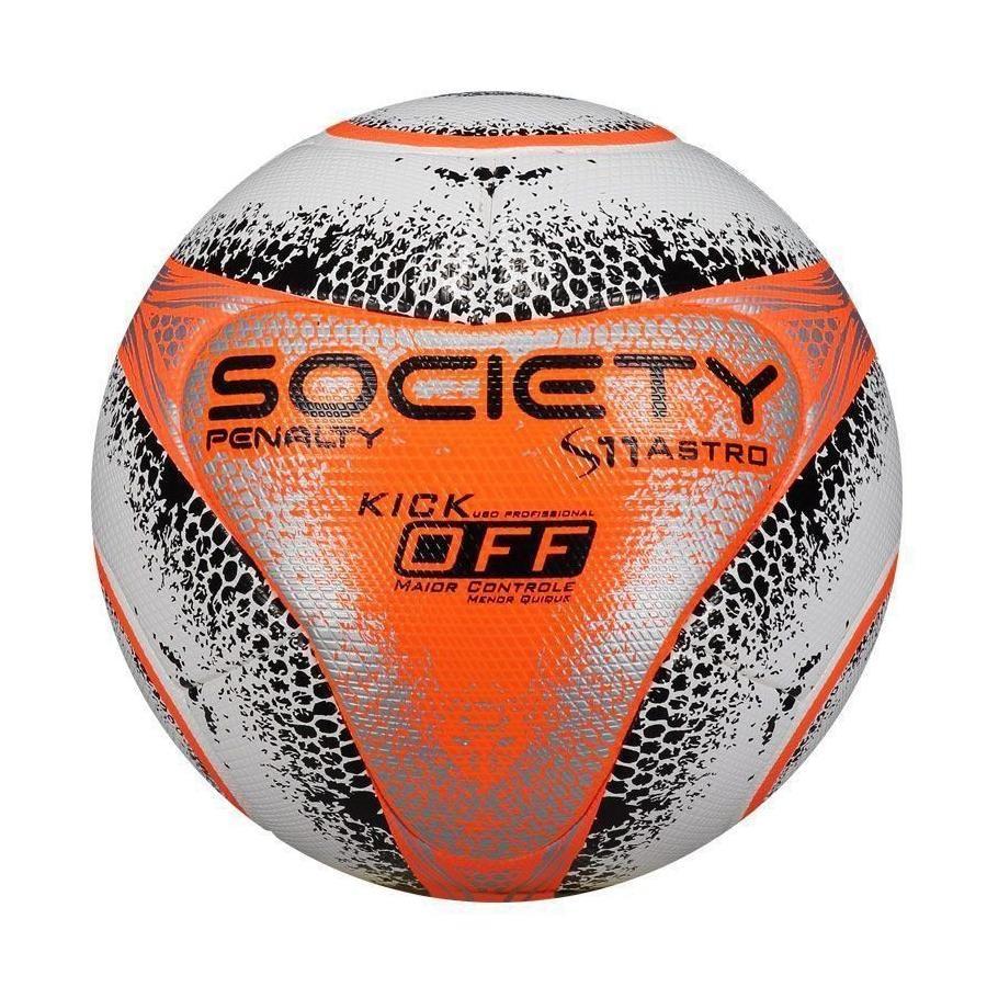 Bola de Futebol Society Penalty S11 Pró Astro Kick Off VIII c588e32599770