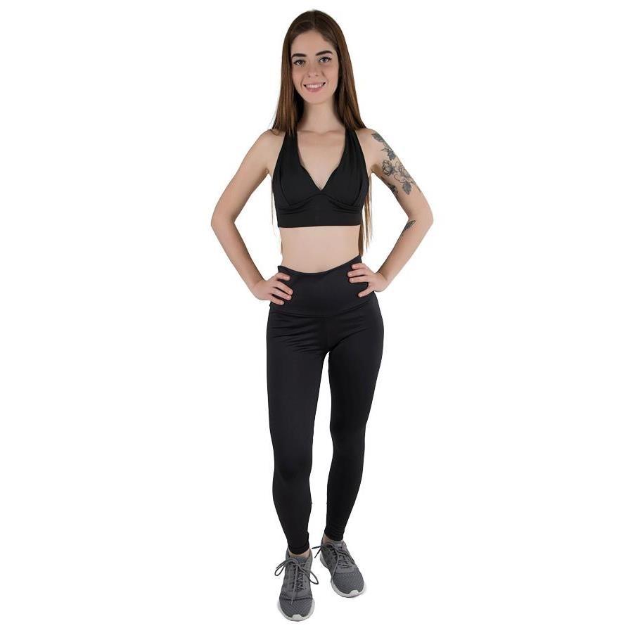 bfb763d31 Top Fitness com Bojo Calif - Adulto + Calça Legging Calif - Feminina