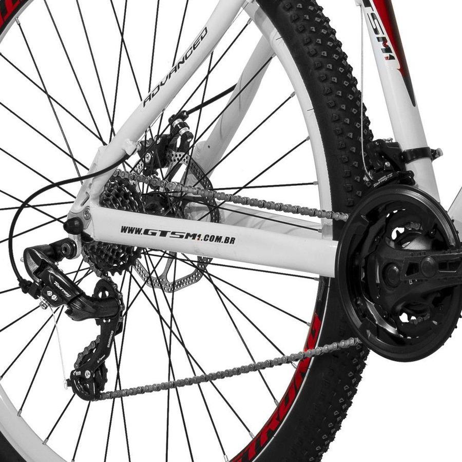 Bicicleta GTS M1 Advanced 1.0 - Aro 29 - Freio a Disco - Câmbio Shimano -  24 marchas bde9b763e02