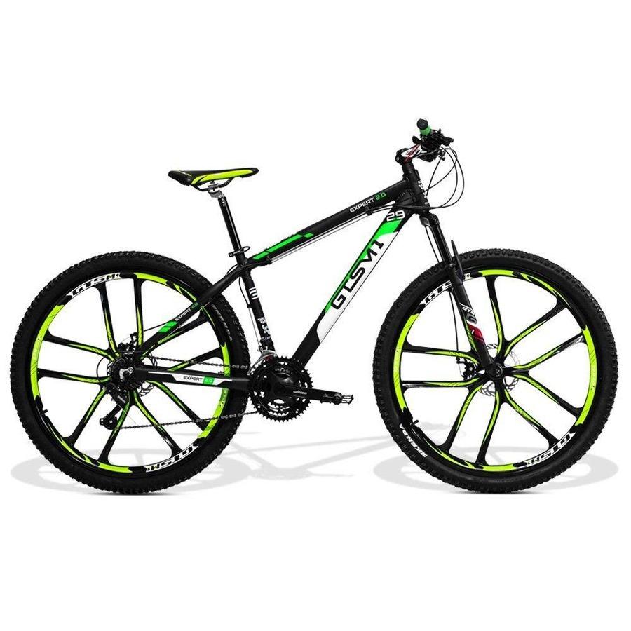 Bicicleta GTS M1 New Expert 2.0 Magnésio - Aro 29 - Freio a Disco - Câmbio  - 21 Marchas 0823bd676cc