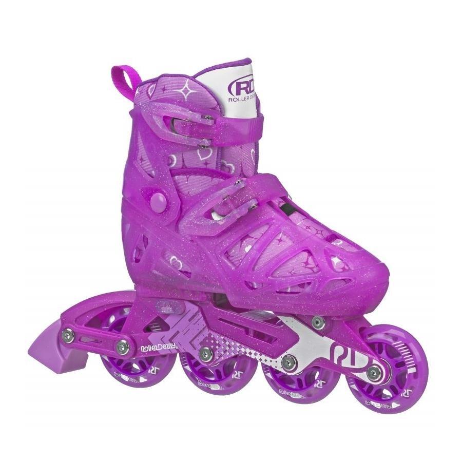 Patins Inline Roller Derby Tracer Girl Ajustável - Infantil 1b04e65bdff